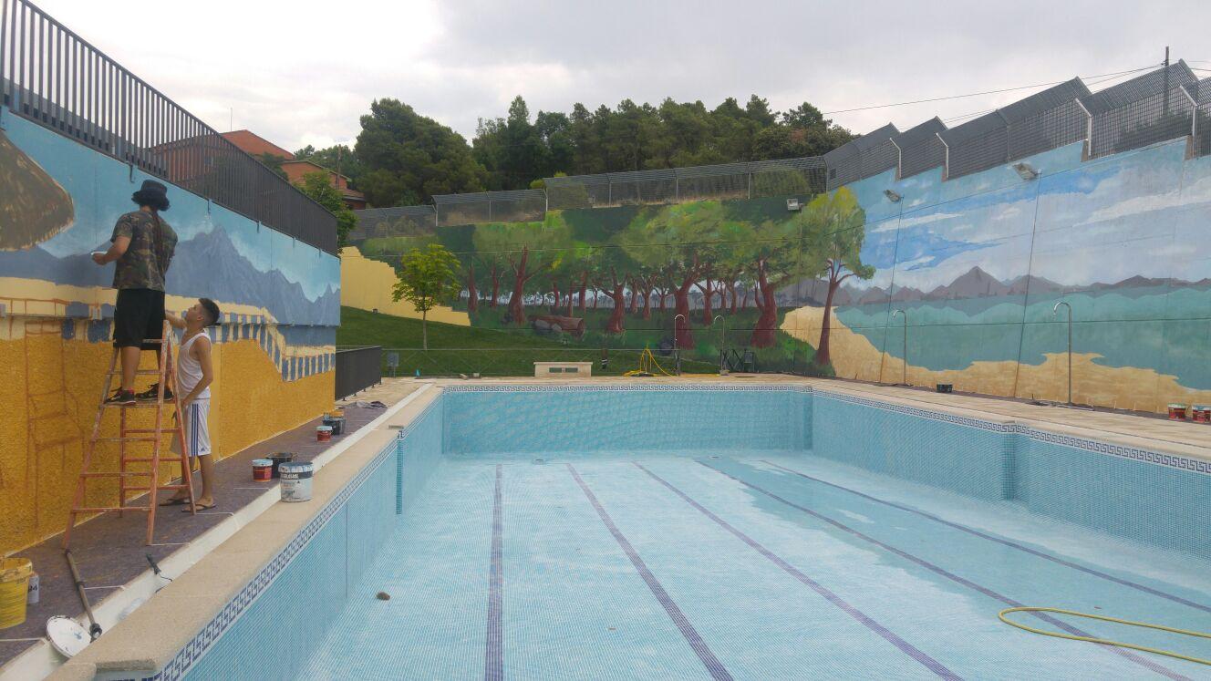 """Piscina Municipal Fresnedillas de la Oliva"""