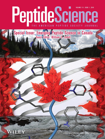 Peptide Science Special Issue: Emerging Peptide Science in Canada - Volume 111, Issue 1