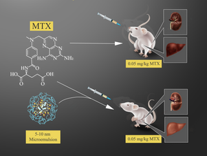 The Synthesis of Methotrexate-Loaded F127 Microemulsions and Their in Vivo Toxicity in a Rat Model
