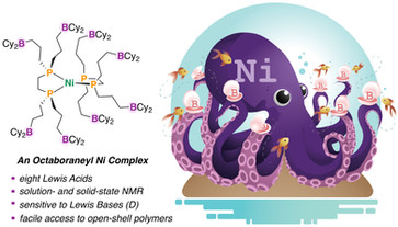 Octaboraneyl Complexes of Nickel: Monomers for Redox‐Active Coordination Polymers