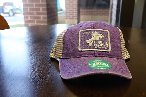 Purple Martin Greenway LEGACY Hat