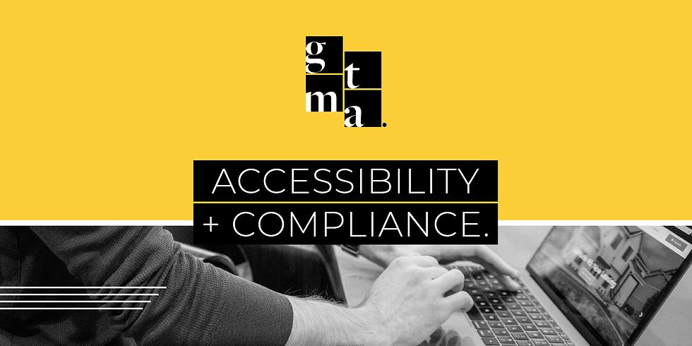 Accessibility + Compliance Webinar