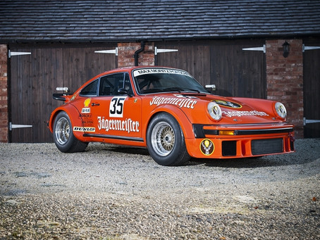 FIA HISTORIC PORSCHE 934- HERE'S ONE WE BUILT EARLIER