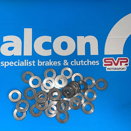 Alcon Brake Caliper Mounting Spacer-5mm ST/ST for 996/997 GT3 Rear