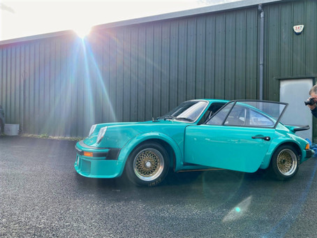 FIA HISTORIC PORSCHE 934 BUILD- PASSES FIA INSPECTION