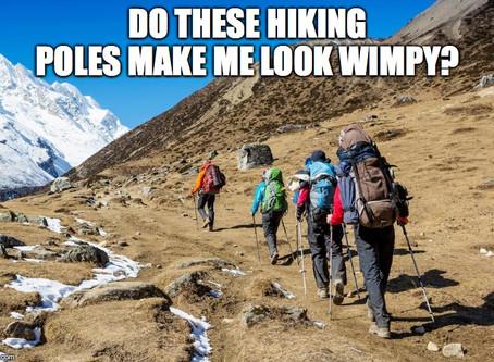 Hiking poles - useful tool or crutch?