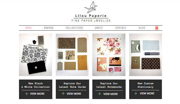 Arts & Crafts website templates – Paperie