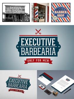 Branding Executive Barbearia