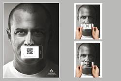 Anúncio interativo Censura
