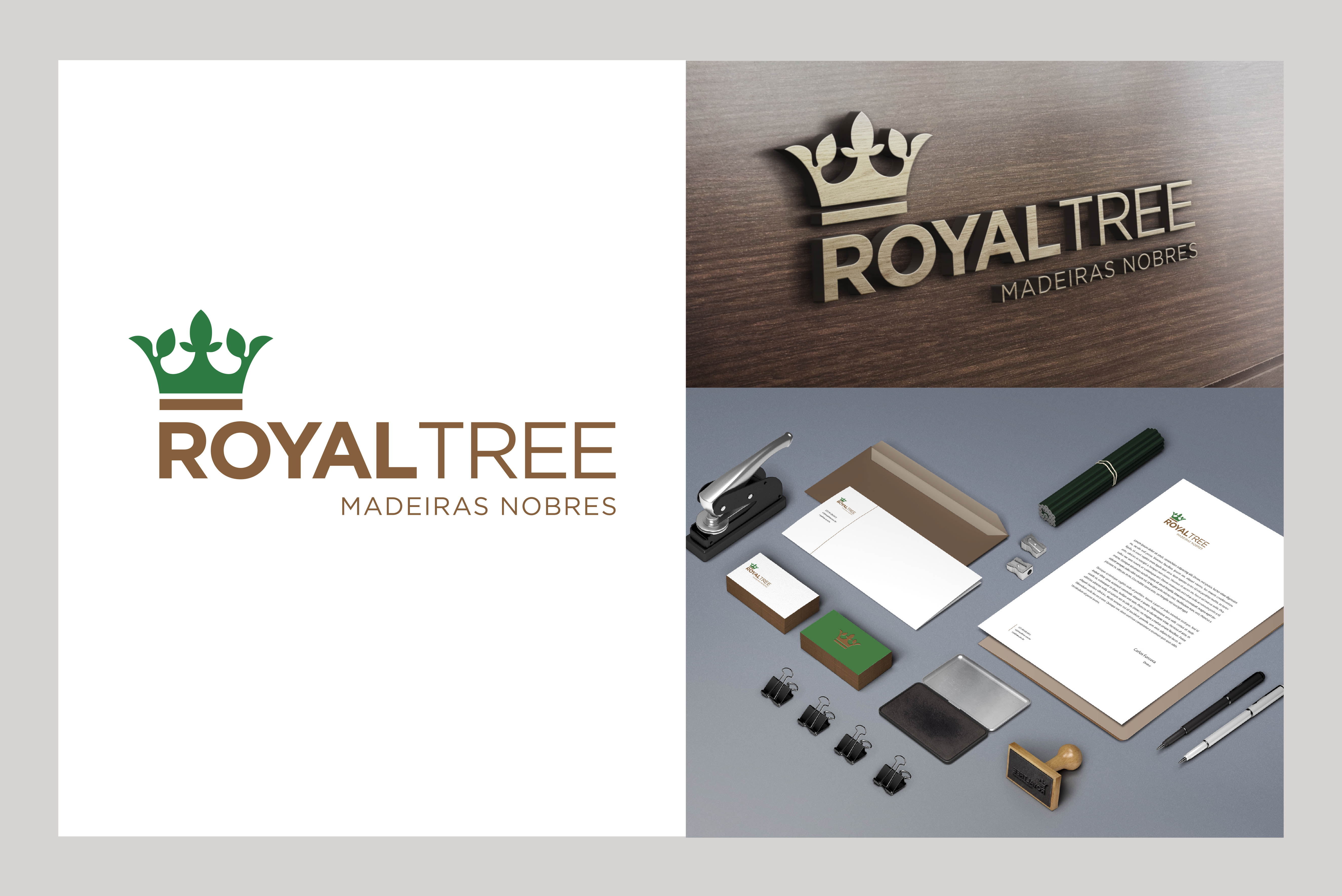 Identidade visual Royal Tree