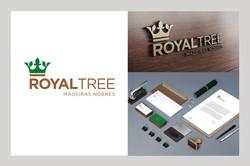 Identidade visual Royal Tree