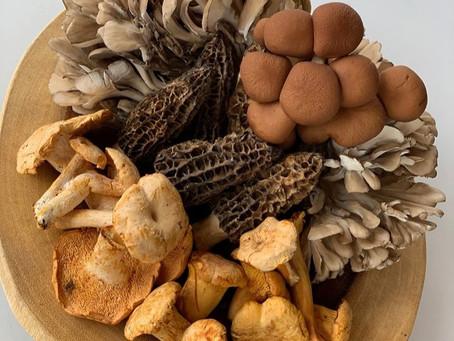 Pan-Seared Mushrooms