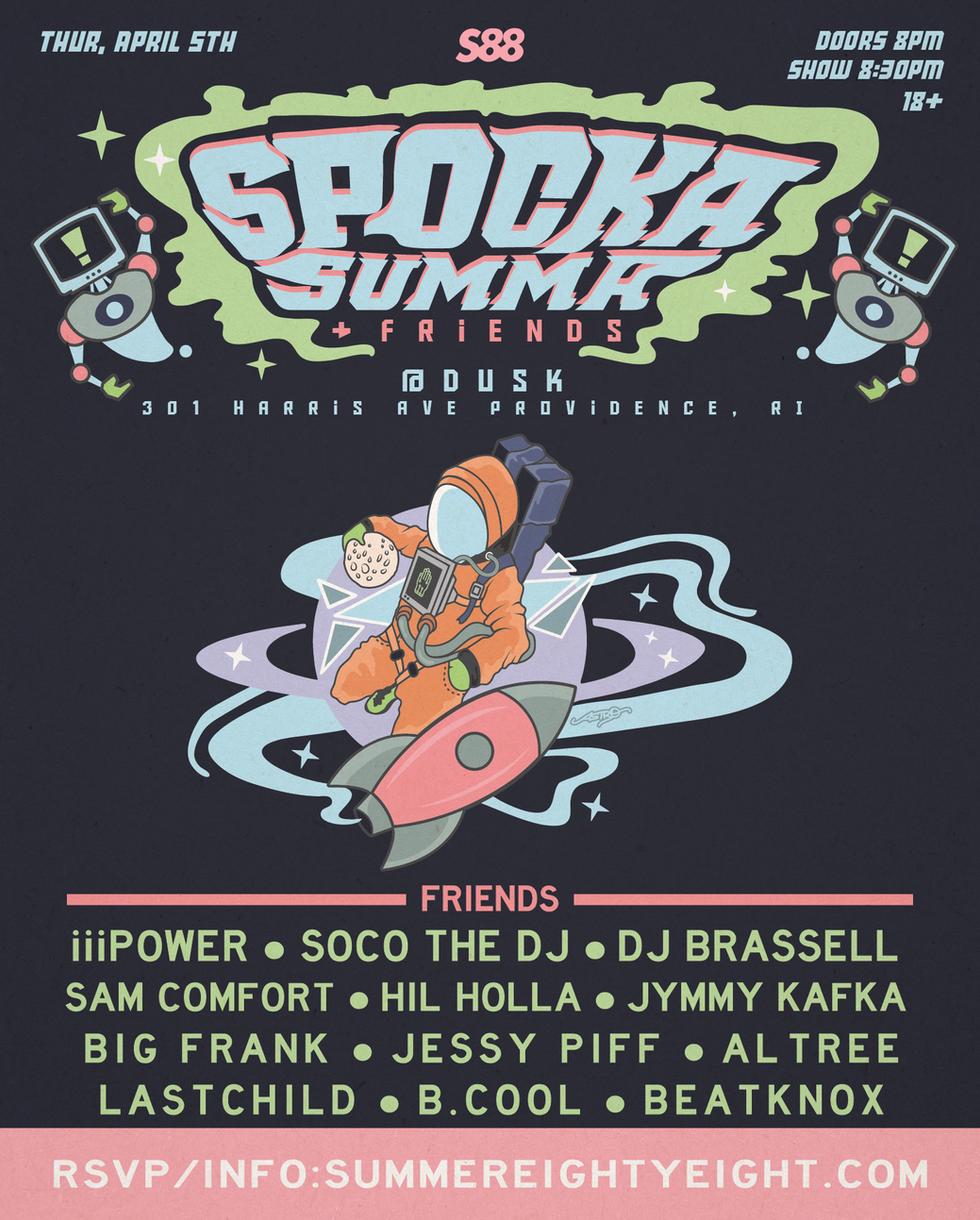 Just announced: Spocka Summa & Friends (4.5.18)