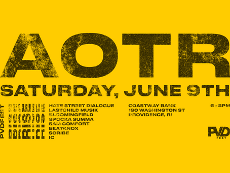 Just Announced- Artists on the rise @ Pvd Fest 2018- Sat. June 9th