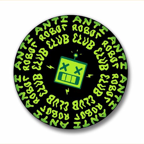 "Anti-Robot Club - 1.25"" button"