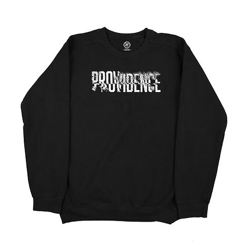Providence Pop- Up - Black -  Crew Neck Sweater