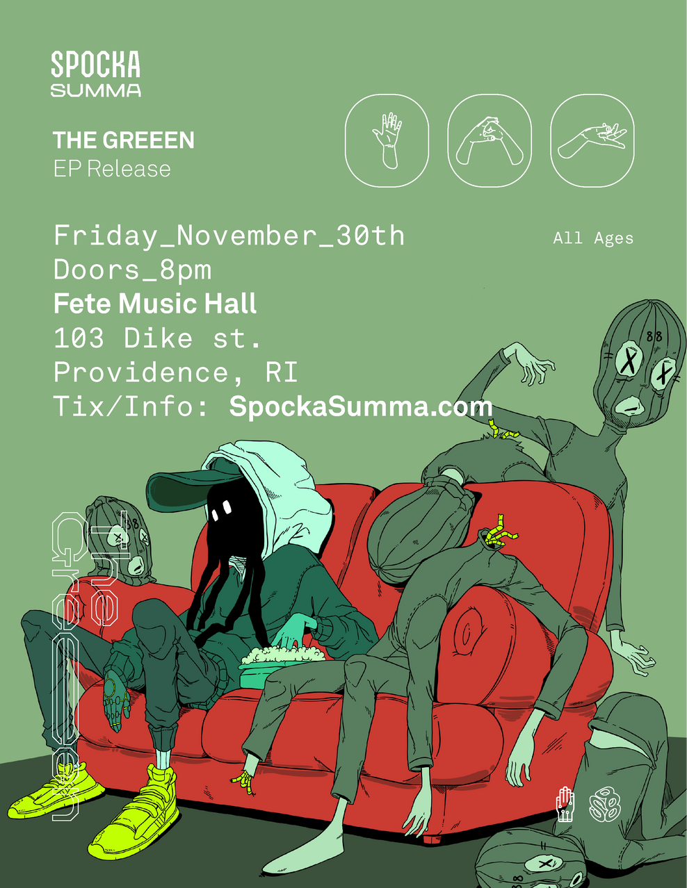 EP Release -                                            NOV 30TH Concert + Party