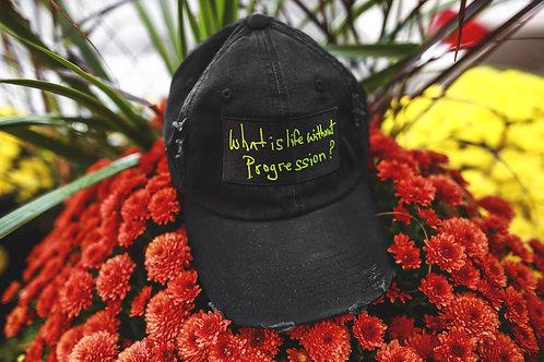WILWP ? / DAD CAP (BLACK & GREEEN)
