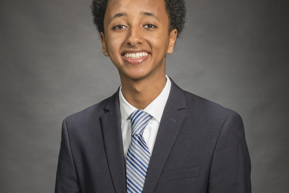Nate Tinbite, Student Member of the Board (2019-20)