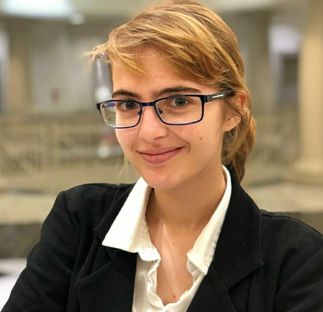 Zoe Tishaev, National Youth Advocate of the Year (Clarksburg HS)
