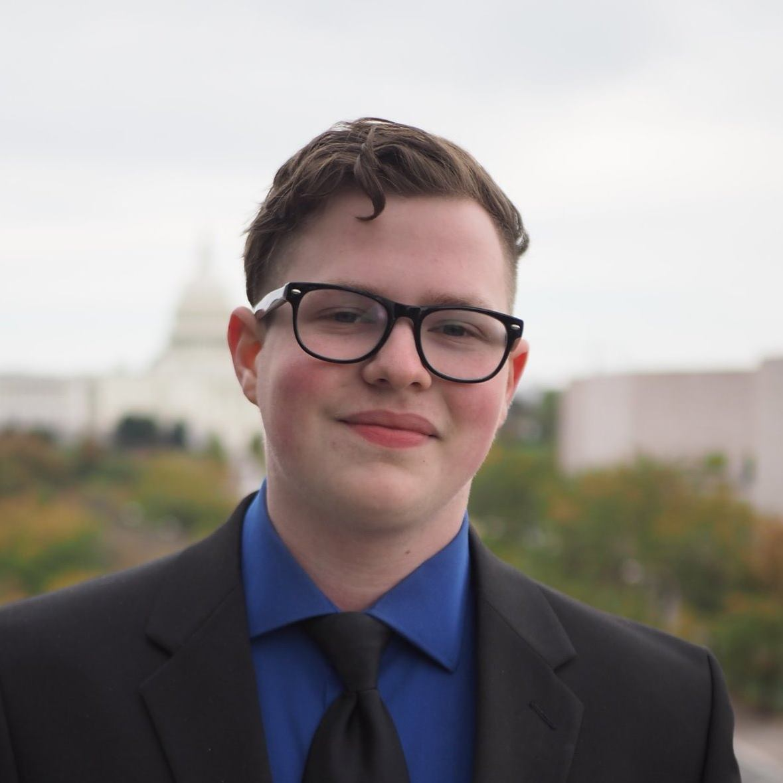 Brian Kramer, MCPS Graduate/American University student