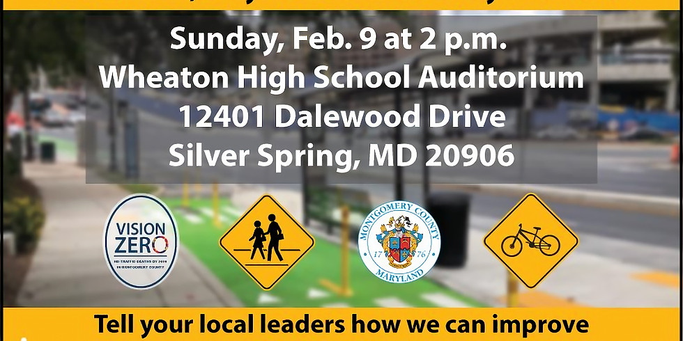 Pedestrian, Bicycle and Traffic Safety Town Hall