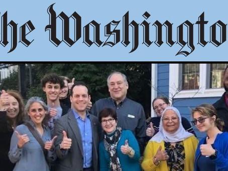 A NEW Washington Post Endorsement!