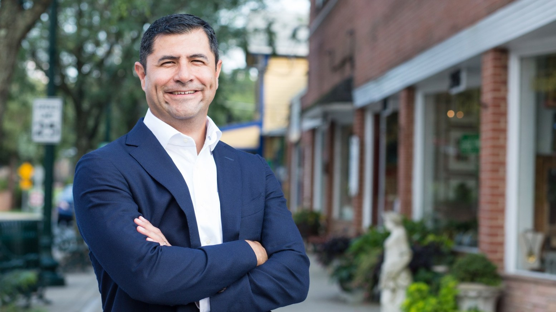 Montgomery County Council Member Gabe Albornoz