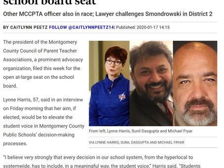 Lynne headlines Bethesda Magazine article on new candidates