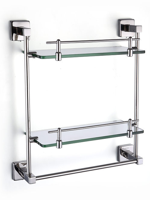 Glasso stainless steel double towel decker 350mm - G01-3501SP2