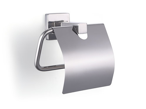 Supremo stainless steel toilet roll holder with cover - S03-146P