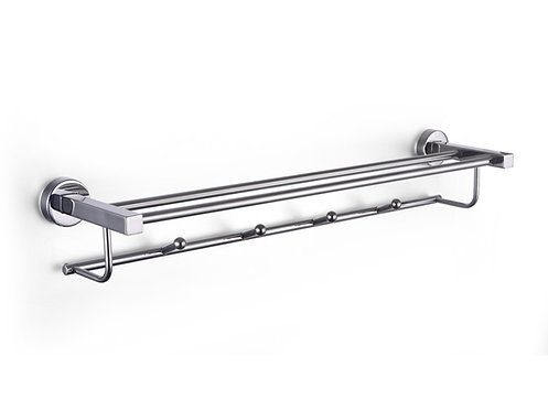 Supremo stainless steel towel double rail towel hanger 600mm - S05-6002P