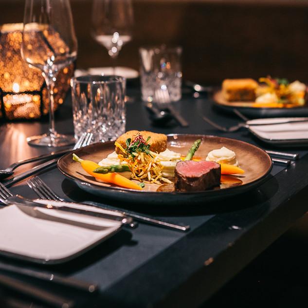 Menü Hauptspeise – Rinderfilet