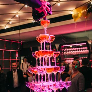 Champagner Pyramide