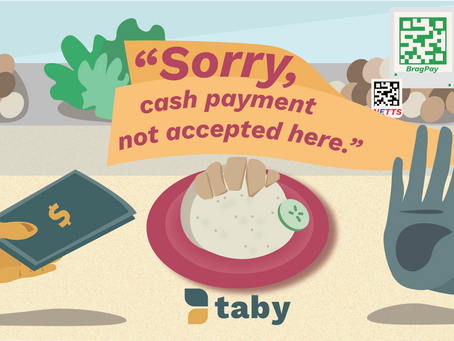 """Sorry, we don't accept cash here."" Parents, are your children ready for a cashless society?"