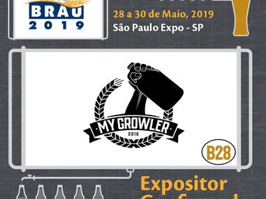 My Growler marca presença na Brasil Brau 2019