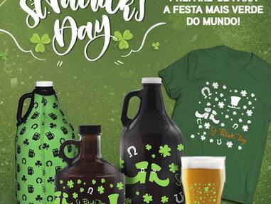 No St Patrick's Day, aproveite as vantagens do growler
