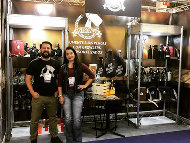 Na Fispal Food Service, a My Growler dissipou a cultura do growler entre os empresários do setor