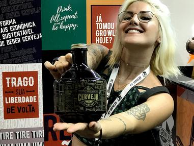 Feira brasileira da cerveja é vitrine para expansão do mercado e negócios da My Growler
