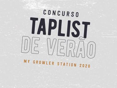 Concurso TapList de Verão da My Growler Station