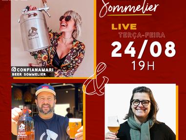Semana Beer Sommelier: live com @confianamari