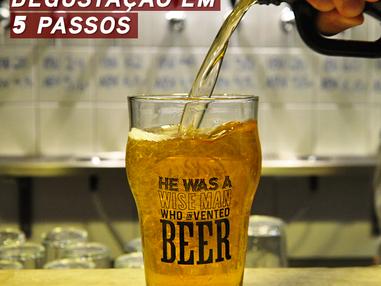 Semana Beer Sommelier: Degustação em 5 passos