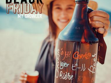 Uma Black Friday e 15 campanhas imperdíveis: BLACK GROWLER é tipo o paraíso para os cervejeiros de p