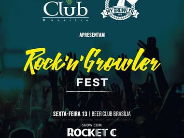 No Dia Mundial do Rock participe da Rock'n'Growler Fest com muita cerveja e rock'n'roll