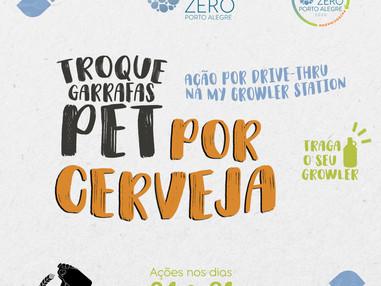 My Growler anuncia 2ª Edição do TROQUE GARRAFAS PET POR CERVEJA