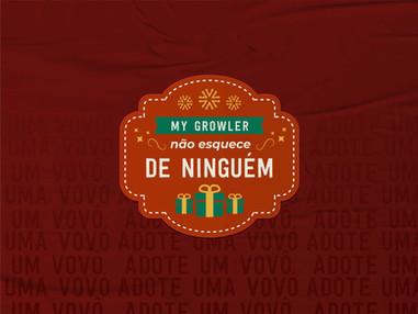 Natal Solidário da My Growler terá adoção de cartinhas e doação de cestas básicas para lar de idosos
