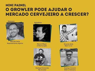 Rodrigo Fernandes, CEO da My Growler, é destaque no II Congresso Cervejeiro