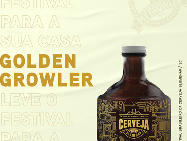 My Growler presente na maior Feira Brasileira da Cerveja