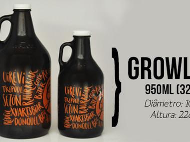 Growler de 950ml entra para a linha de produtos da My Growler