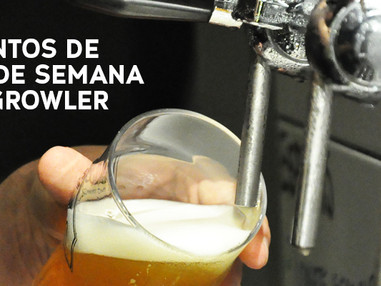 My Growler Station: eventos do fim de semana